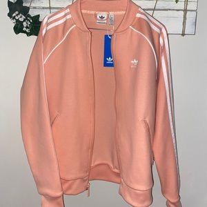 Peachy Adidas track jacket